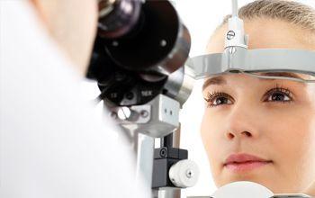 Consulta de oftalmología