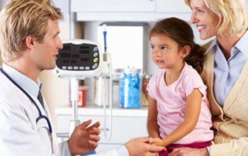 Consulta de cirugía pediátrica
