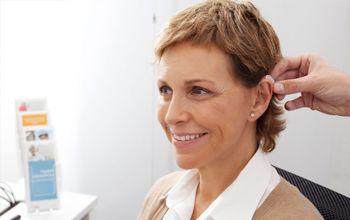 Consulta de revisión auditiva