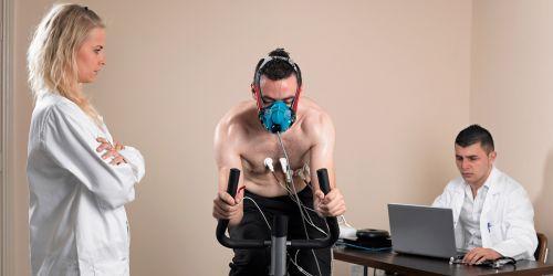 Ergometría - Prueba de esfuerzo con análisis de gases