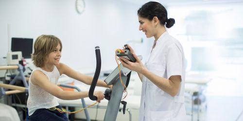 Prueba de aptitud física para menores de 16 años