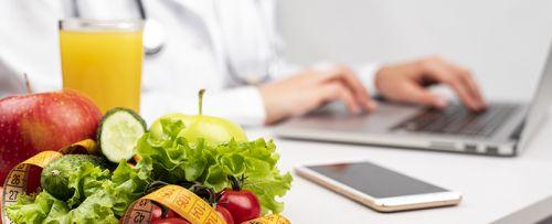 Consulta dietética y nutrición
