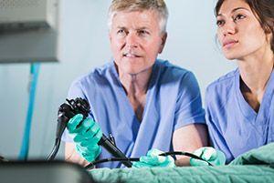 Endoscopia de colón diagnóstica
