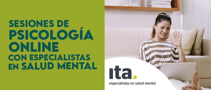 sesiones de psicologia online con ITA