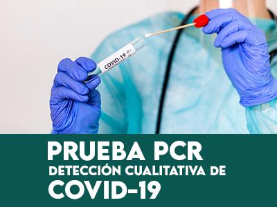 Prueba PCR detección cualitativa de Covid-19